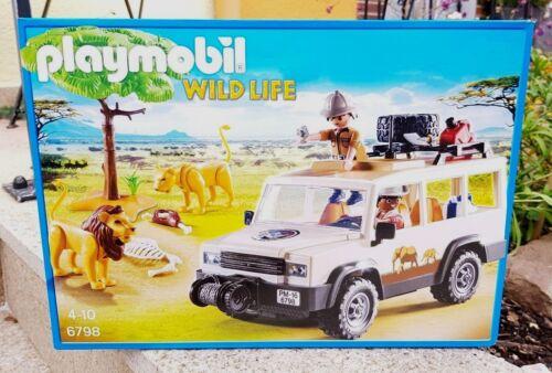 Abenteuer Dschungel PLAYMOBIL 6798 Safari Geländewagen Tiere Löwen Wild life  Neu OVP