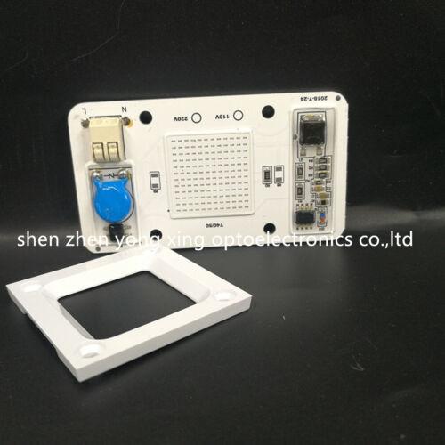 50W Hydroponice DOB AC LED COB Chip F Grow Plant Light Full Spectrum AC110//220V
