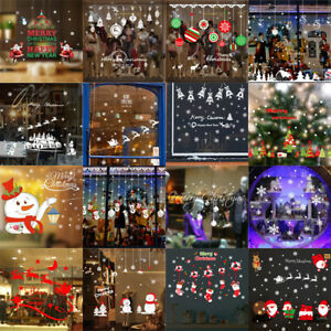 Merry-Christmas-Happy-New-Year-Wall-Stickers-Vinyl-Decal-Window-Removable-Decor