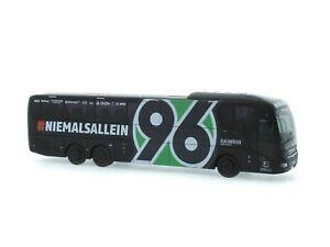 Rietze-Mannschaftsbus-Hannover-96-MAN-Lions-Coach-L-neu-OVP-Bus-Reisebus