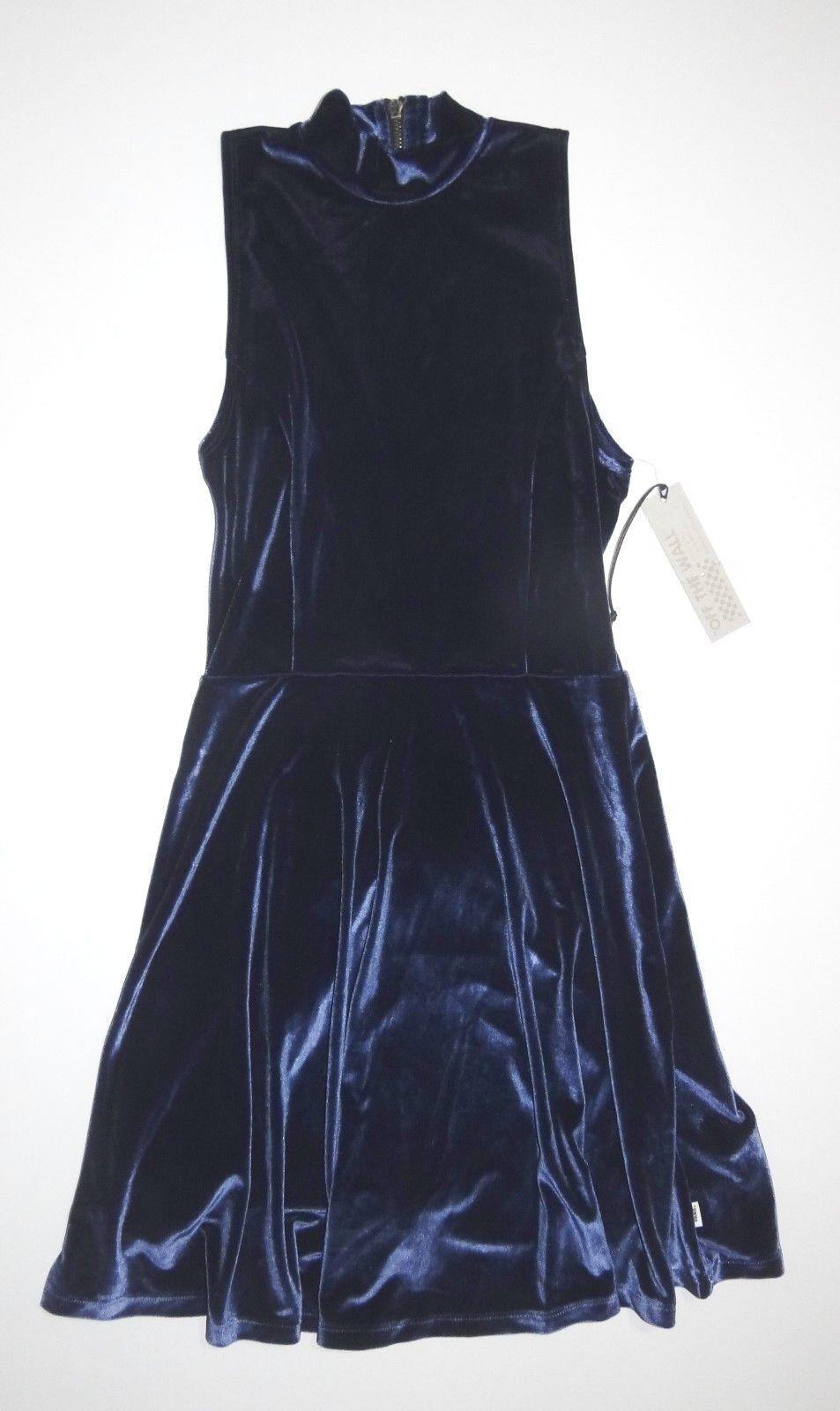 New Vans Womens Vixon Velour Sleeveless Casual Dress
