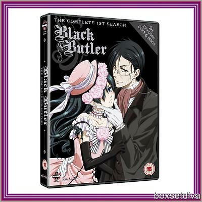 BLACK BUTLER - COMPLETE FIRST SEASON ***BRAND NEW DVD ***