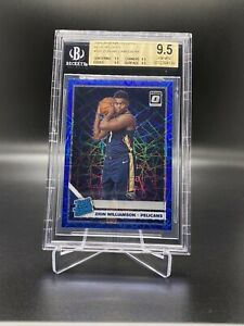 2019-20-PANINI-DONRUSS-OPTIC-BLUE-VELOCITY-ZION-WILLIAMSON-BGS-9-5-TRUE-MINT