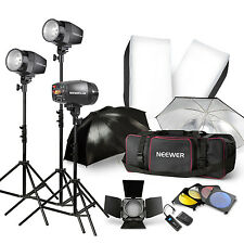 540W Flash Kit Photography Lighting Studio Strobe LIGHT