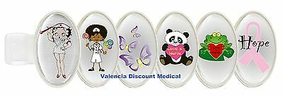Prestige Medical Stethoscope Name ID Tag *Many Styles to Choose From*  Nurse S8