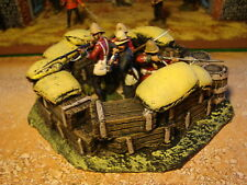 T5 Rourkes drift Redoubt. For Zulu War Painted. sandbags and Boxes. For Dioramas
