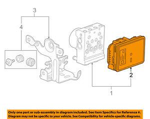 image is loading gm-oem-anti-lock-brakes-abs-control-module-