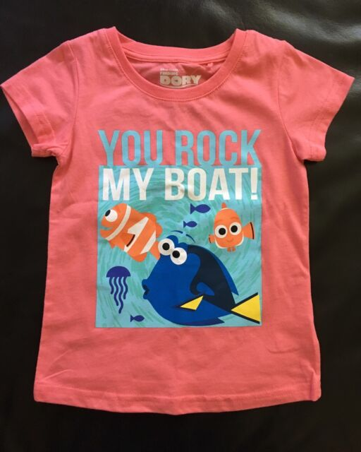 Girls Licensed Finding Dory T-Shirt Size 2