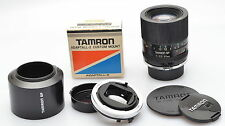 TAMRON SP 90/2.5 MACRO 52B with Adaptall 2 for OM & FD