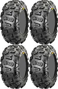 Pair 2 CST Abuzz 26x9-14 ATV Tire Set 26x9x14 CU01 26-9-14