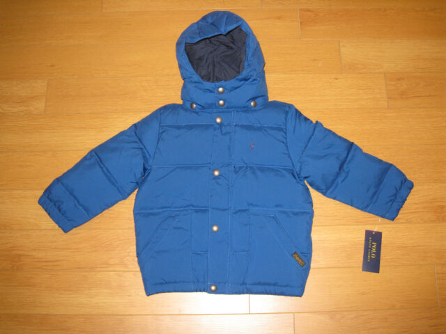 98f7276ac76ea ... free shipping polo ralph lauren boys jacket coat down fill puffer  toddler kids bfe9a 05f1d
