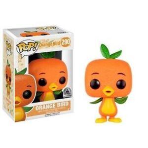 Rare-Orange-Bird-Disney-Parks-Funko-Pop-Vinyl-New-in-Mint-Box-Protector