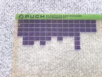 Microfich Ersatzteilkatalog Ersatzteilliste Puch Ranger TT 4-Gang 1/81