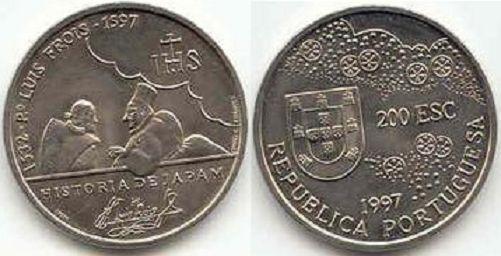 Portugal 200 escudos Bento de Gois 1997 KM 700 China Map 1562-1607 UNC