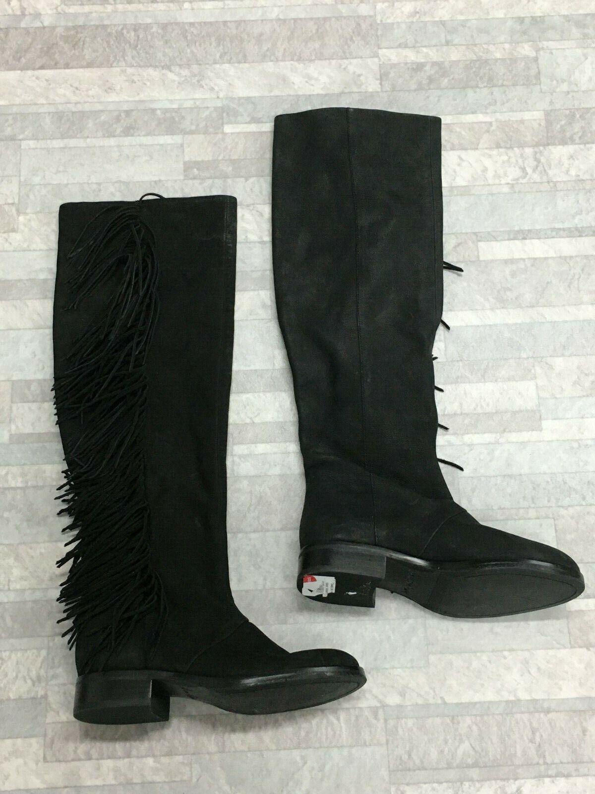 Sam Edelman Josephine Kniehohe Stiefel Farbe Schwarz Größe  5 US  2