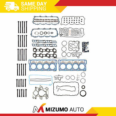 Fits 03-10 Ford Super Duty 6.0L Power StrokeTurbo Head Gasket Set Bolts 20mm