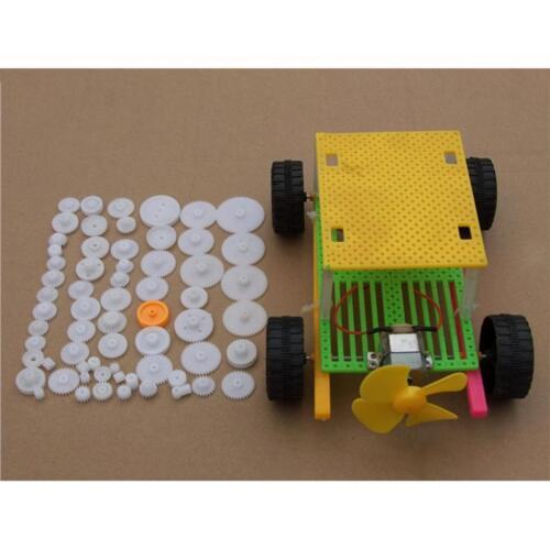 64 Plastic DIY Gear Motor Gear Box Robot Model Kit for Model Accessories DIY