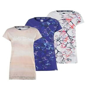 Ladies-Hot-Tuna-Crew-Short-Sleeves-Top-Printed-Cotton-T-Shirt-Sizes-from-8-to-18