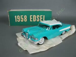 NOS-Vintage-1958-Ford-Edsel-Corsair-Dealer-Promo-Friction-Model-Car-2DR-Hardtop