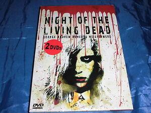 2 DVD s  , George A. Romero , Night of the Living Dead , Kult Zombie Film , ovp.
