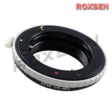 Kipon Contax G G1 lens to Sony E NEX mount adapter NEX-5T 7 6 3N 5R A5000 A6000