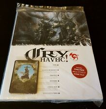 Cry Havoc! Volume 3 - RPG Chronicles if the World of Rackham NEW w/ CARDS