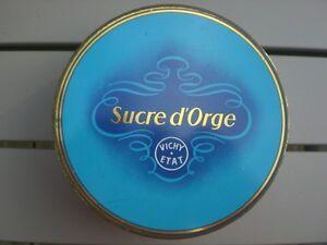 boite-pour-collection-Sucre-d-039-Orge-Vichy-Etat-en-metal-vide
