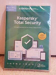 Kaspersky Total Security 2019 Multi-device 10 Utilisateurs/1 An (multi Lang)-afficher Le Titre D'origine Le Plus Grand Confort