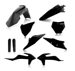 Acerbis full plástico kit completamente negro 2019 KTM SX SXF 125 150 250 350 450