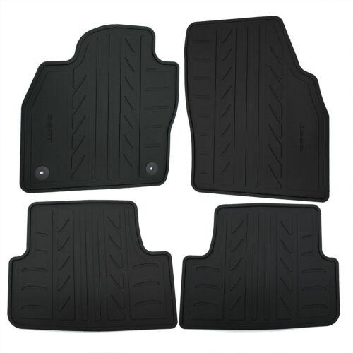 Original Seat Fussmatten Matten Gummi schwarz 4teilig Arona Ibiza 6F1061500 041