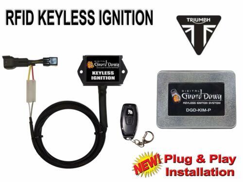 Digital Guard Dawg Keyless Ignition for Triumph Daytona 675//R 2009-2012
