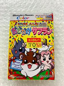 """Dokodemo Hamster 3 Safuran """"Good Condition"""" Wonderswan Color Bandai Japan WSC"""