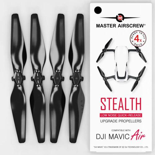 DJI MAVIC AIR PROPELLERS Second Generation Propeller Upgrade Black SET OF 4