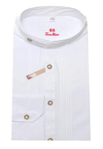 2XL Orbis Trachtenhemd Vender Weiss