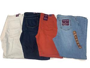 NWT! Gloria Vanderbilt Women Missy Amanda Tapered Leg Classic Rise Jeans