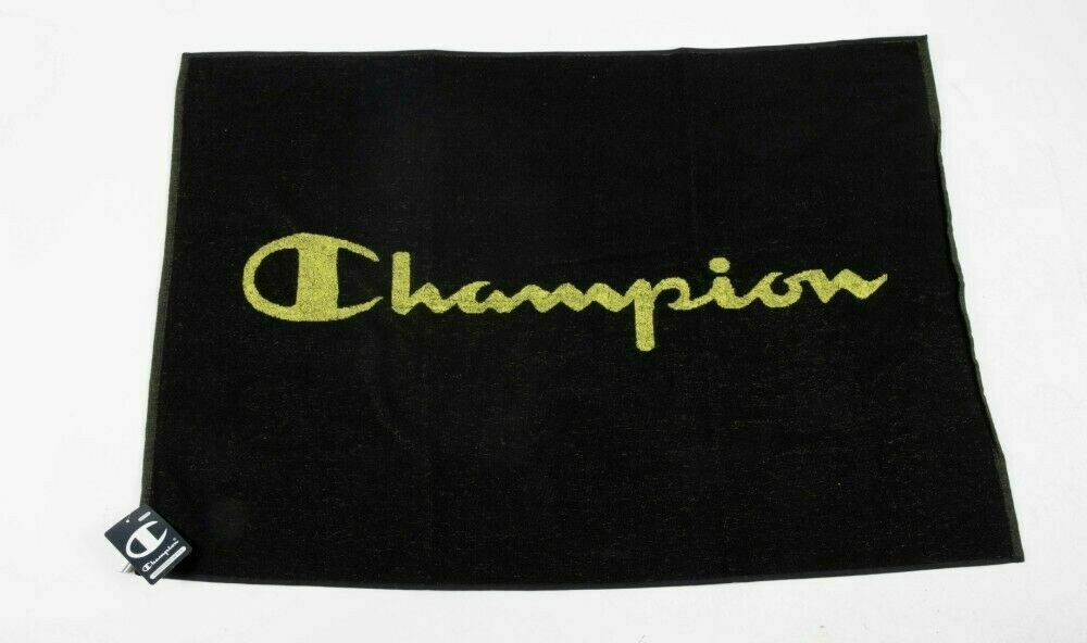 Towel Gym For Bench CHAMPION Art. 804128 - 2 Colours (Black and Blue)