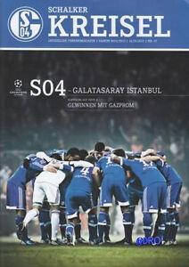 Schalker-Kreisel-12-03-2013-FC-Schalke-04-vs-Galatasaray-Istanbul-Programm