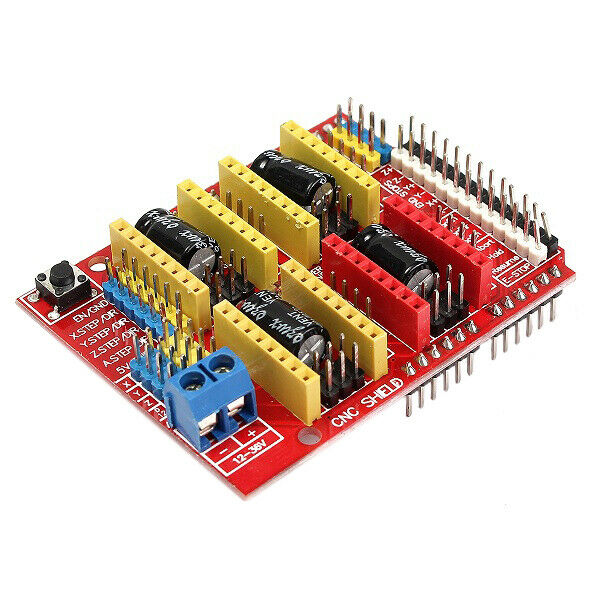 Driver Kit With Heat Sink For 3D Printer 10X Geekcreit CNC Shield + UNO R3 Board