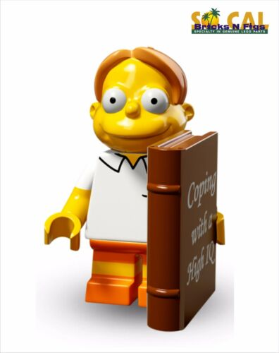 LEGO 71009 Simpsons Series 2 Martin Unused Code