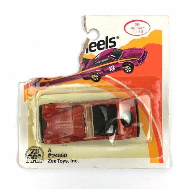 Vintage ZeeToys D-69 Morgan Plus 8 Metal Toy Car