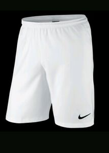 Details about New BNWT WHITE Nike Dri-Fit Men's sports training Football  Shorts size Small