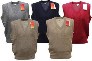 Herren Strickweste, Herren Pullunder, Herren Pullover ohne Ärme, 5 Farben Vlna2