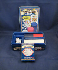 CARDINAL Collectors Playing Cards Poker Chips & Dice Set     G16