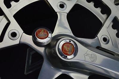 Bianchi crankset dust caps fit shimano campagnolo ofmega gipiemme vintage