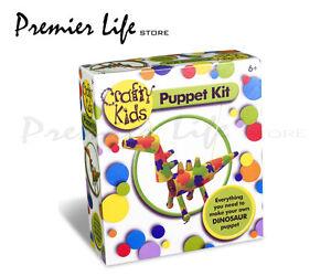 Crafty Kids Puppet Kit Dinosaur - Paul Lamond