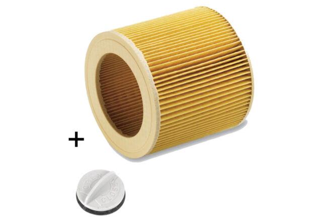 Patronenfilter Lamellenfilter für Kärcher Nass-/Trockensauger WD, MV 6.414-552.0