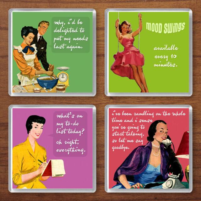 Vintage Advert Coaster Set Cadbury