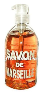 Savon-de-Marseille-French-VERBENA-Citrus-Liquid-Hand-Bath-Soap-with-Pump-New