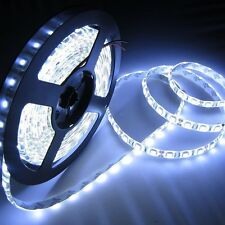 100% Waterproof 5M COOL White Roll LED Strip Light+Adapter Diwali Series Lights