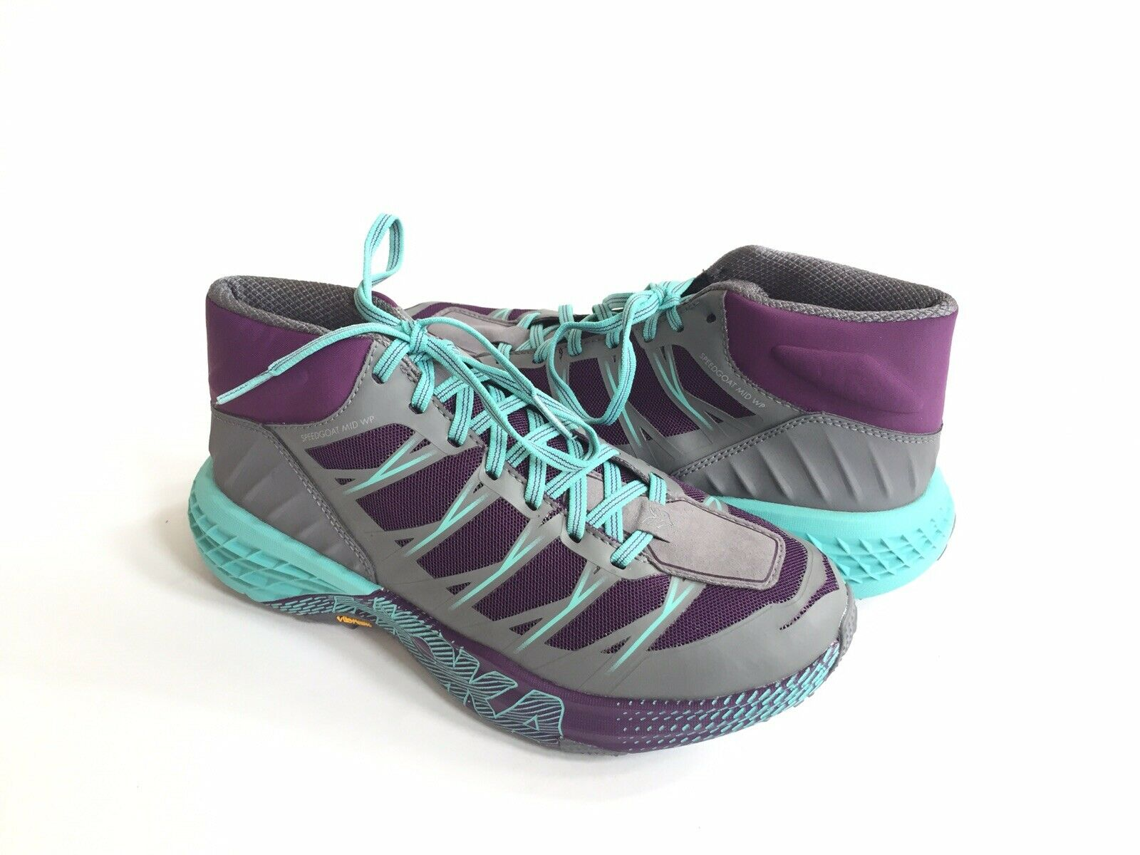 HOKA ETT KVINNOR SPEEDGOAT MID WP WP WP GRAPE ROYALE  ALLOY US 7   EU 38 2  3   UK 5.5  låga priser